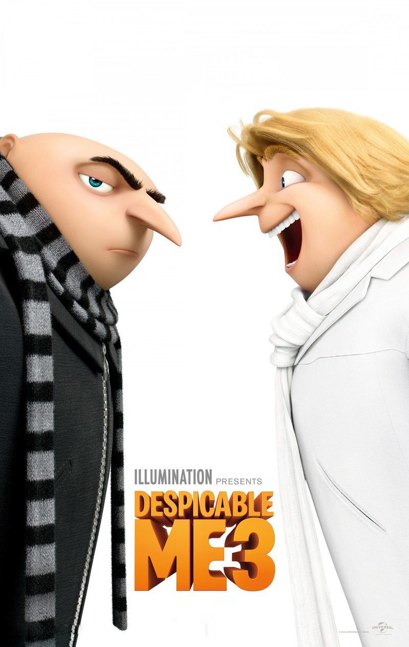 Despicable Me 3 [2017] [DVDR] [NTSC] [CUSTOM BD] [Latino 5.1]