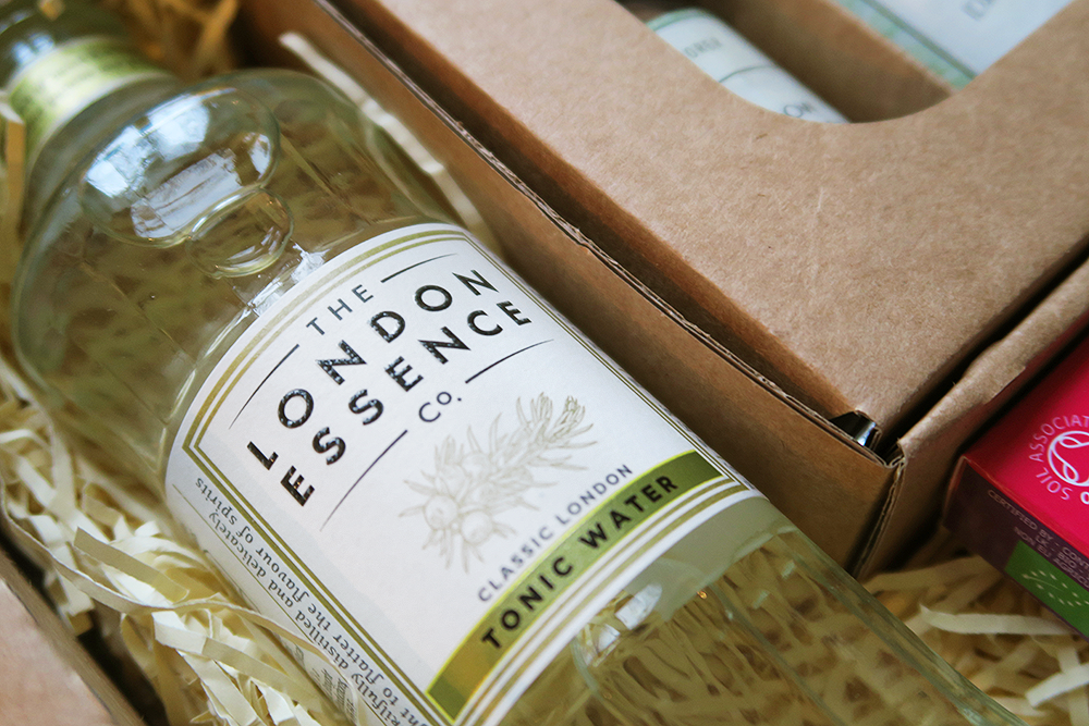 The London Essence Co Classic London Tonic Water in the The Gin Explorer Club January Box