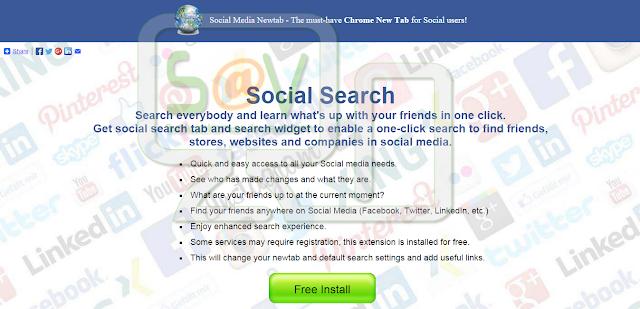 Social Media Newtab - Nueva pestaña