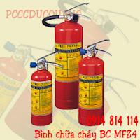ình chữa cháy bột BC MFZ4-4kg