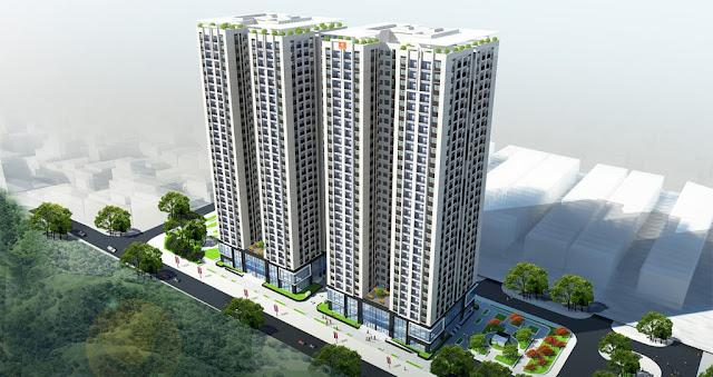 Phối cảnh Chung cư Mon Central 29 Láng Hạ