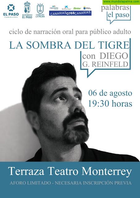 'Palabras El Paso' regresa de forma presencial con el espectáculo La Sombra del Tigre