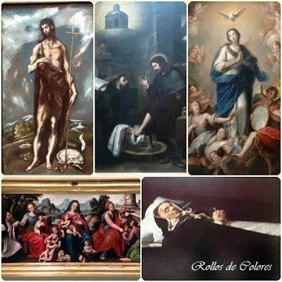 El Greco Murillo Vergara Juan de Juanes Velázquez Museo Bellas Artes Valencia