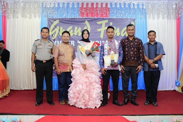 Mahasiswi UMB dan Siswa SMK N 5 Tebo Raih Gelar Mister Miss Rimbo Ilir