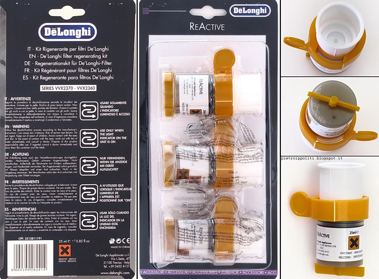 De Longhi Stirella VVX2370 DualVap, Kit Rigenerante