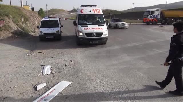 Paşaköy Caddesinde kaza: 4 yaralı