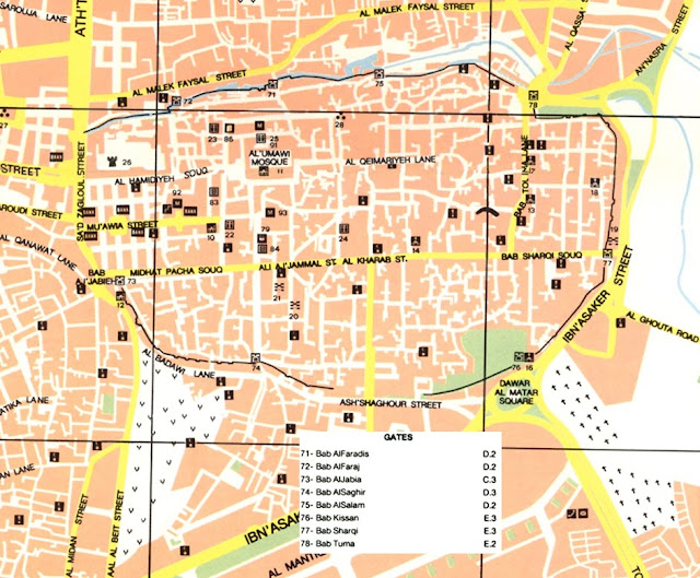 Robs Webstek: Damascus City Gates