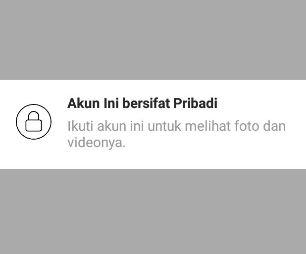 foto instagram private
