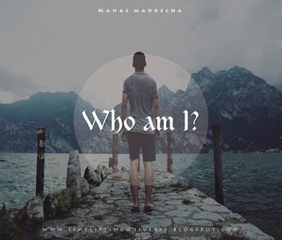 who am i wallpaper, man alone standing, manas madrecha, best short story, 2016 resolutions, simplifying universe, anonymous writer