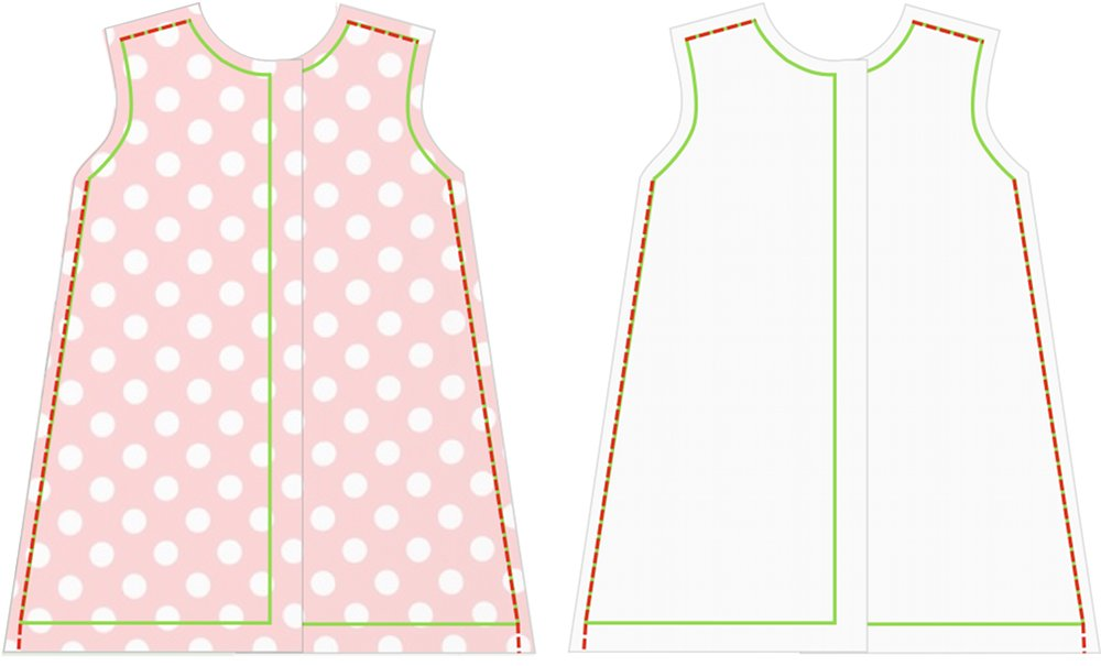 Tutorial baby dresses for girls