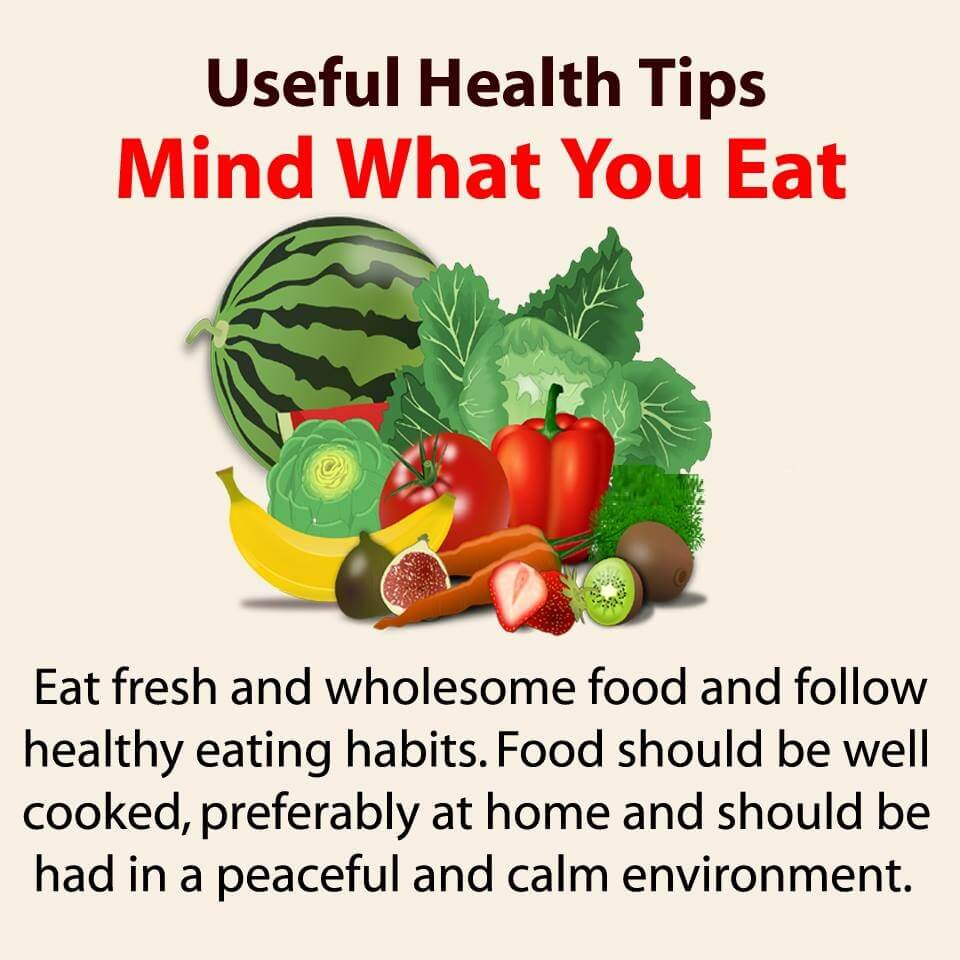 Health Tips Know Your Food