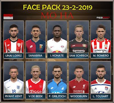 PES 2017 Facepack 23-2-2019 by Mo Ha