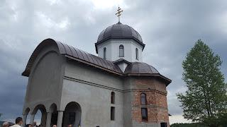 Sfantul Cuvios Paisie Aghioritul, Hramul Manastirii Pantocrator, Beclean, Bistrita-Nasaud