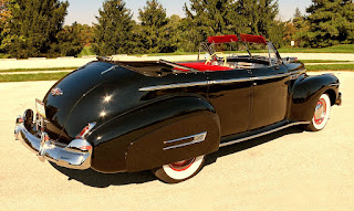 1941 Buick Super 51C Convertible Rear Right