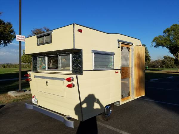 Used Travel Trailers For Sale By Owner >> Used RVs 1960 Honor Bilt Vintage Travel Trailer For Sale ...