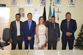 "DSC_0465 Vereadores de Zabelê tomam posse;Pedro Evangelista presidirá a casa ""Doncilio Amador"".Confira,Veja fotos."
