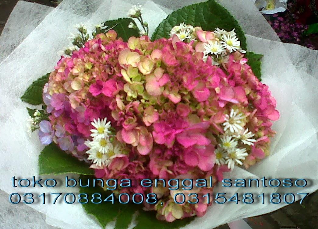 bunga tangan dan hand bouquet hortensia