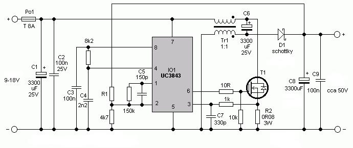 universal dcdc converter circuit