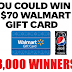 Instantly Win a $70 Walmart Gift Card From Pepsi Zero - 3,000 Winners Win $70 Each! Daily Entry, Ends 4/20/19
