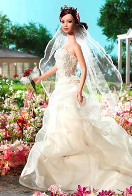 Gaun Pengantin Barbie Tercantik