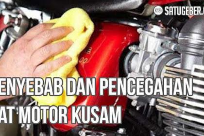 Cat Motor Kusam? Ini Penyebab dan Cara Pencegahannya