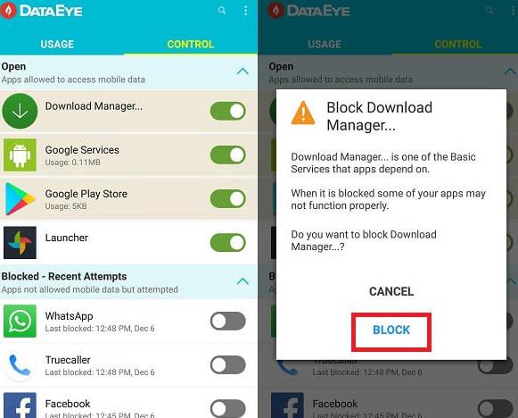 Begini Nih Cara Memblokir Data Seluler / WiFi Untuk Aplikasi Tertentu di Android 6