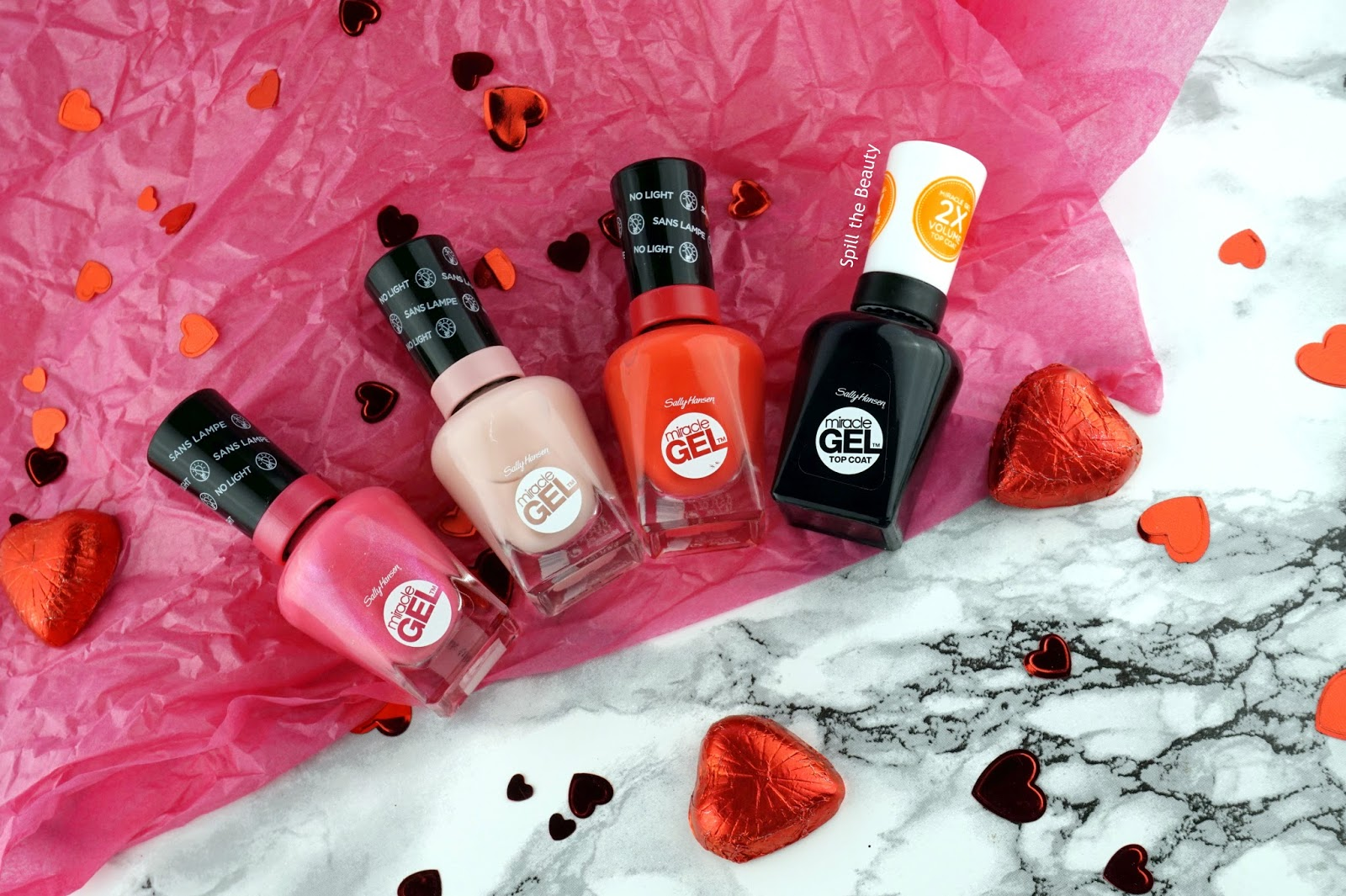 Sally Hansen valentines day nail art tutorial