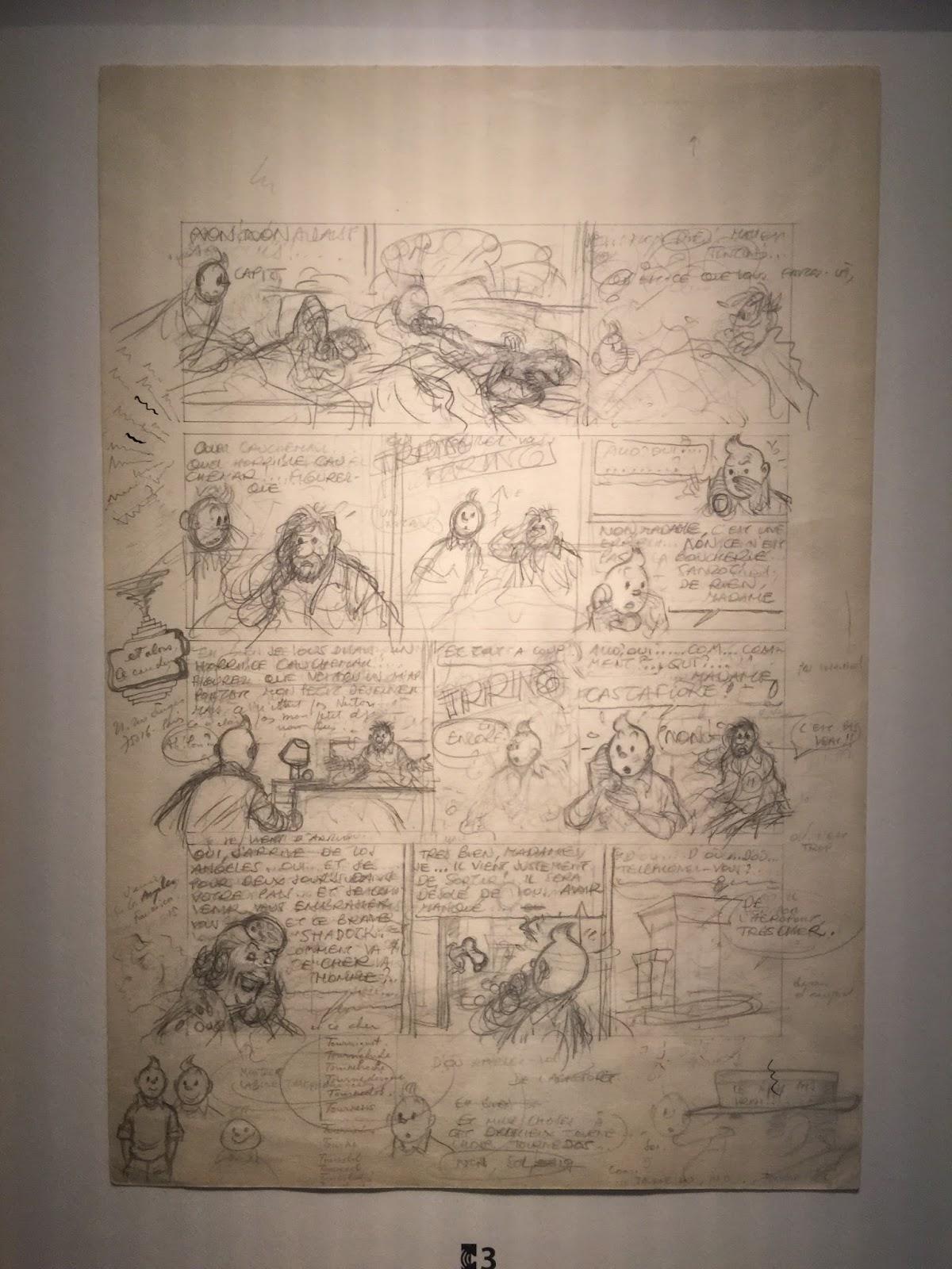 Musée Hergé Belgique Bruxelles Tintin