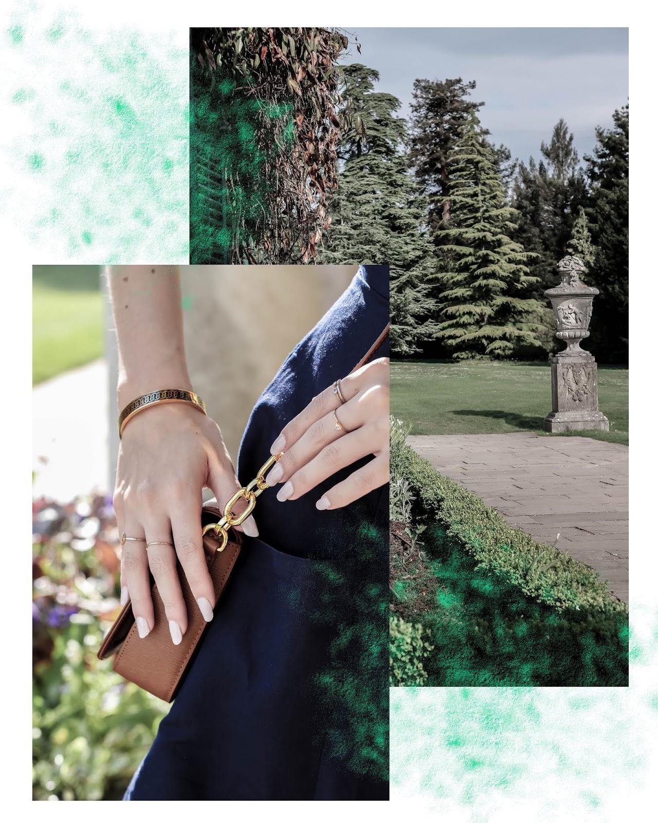 Blogger English Summer Garden Fashion Collage