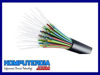 Pengertian Fiber Optik dan bagian - bagian fiber optik
