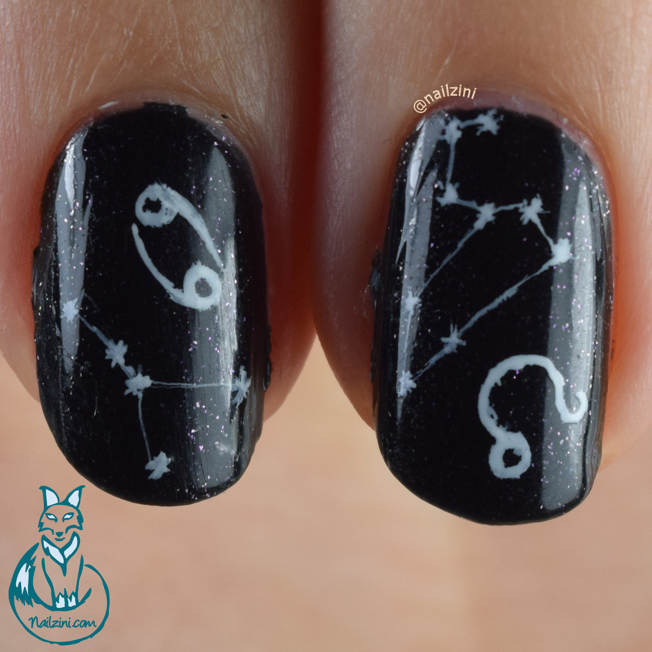 Zodiac Signs Nail Art | Nailzini: A Nail Art Blog