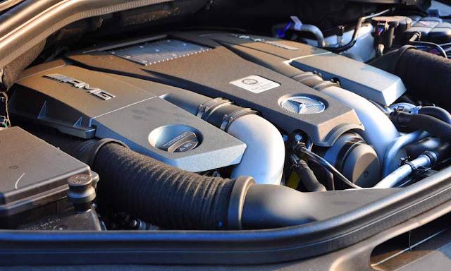 Động cơ Mercedes AMG GLS 63 4MATIC 2018 vận hành mạnh mẽ và vượt trội