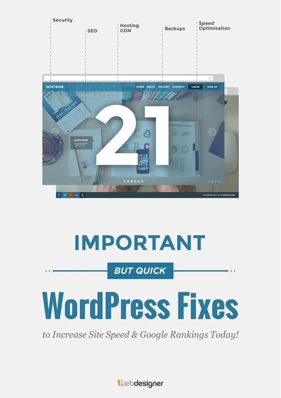 21 Must Fixes For WordPress To Optimize The Site Speed