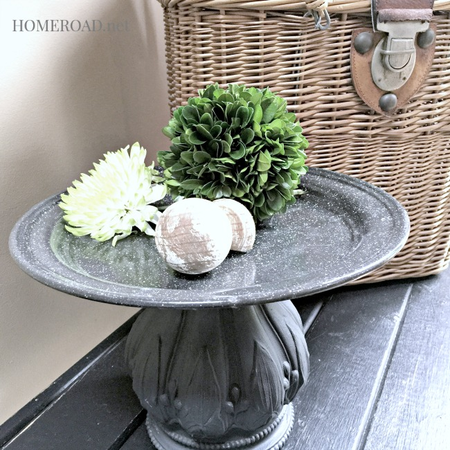 A DIY Metal Pedestal Dish