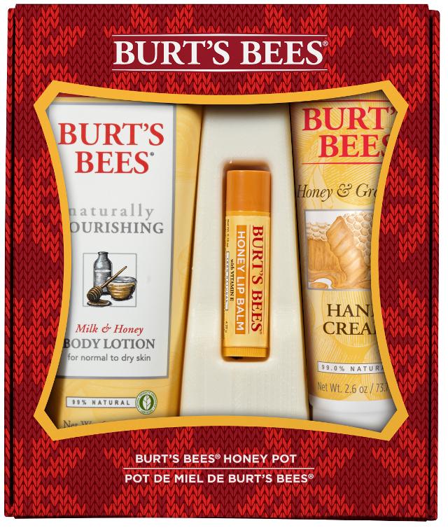 set navidad burt's bees chile