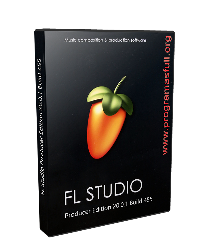 FL Studio Producer Edition 20.0.1 Build 455 poster box cover