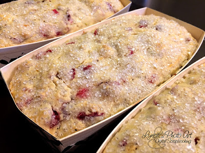 Cranberry Orange Pistachio Loaf - Marys!