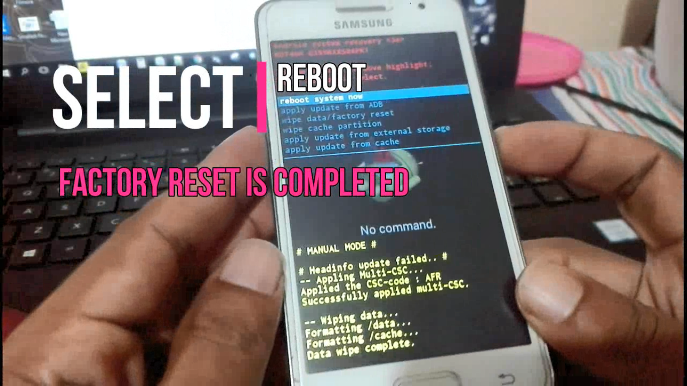 Easy Mades: Factory Reset Samsung Galaxy core 2 SM-G355H