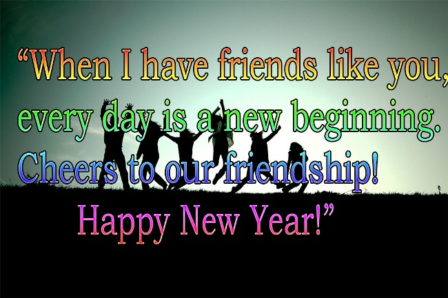 new year 2019 status for friends