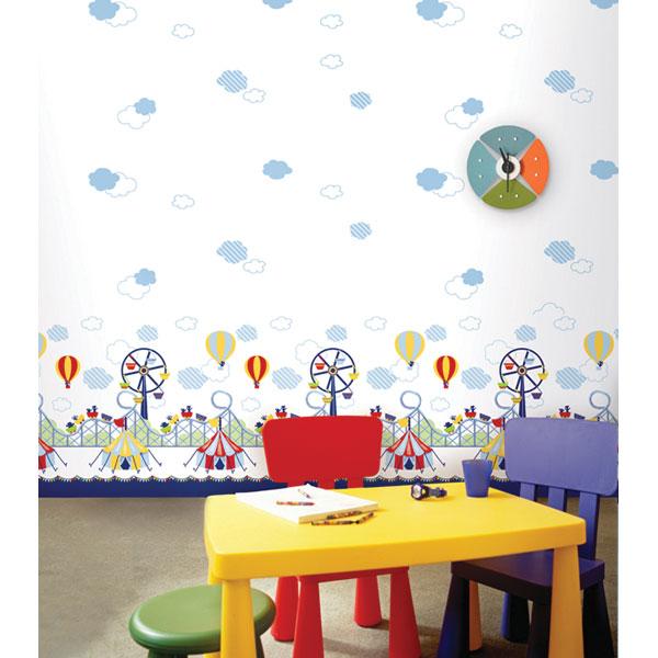 Tư vấn chọn giấy dán tường cho phòng ngủ của bé 1 tuổi