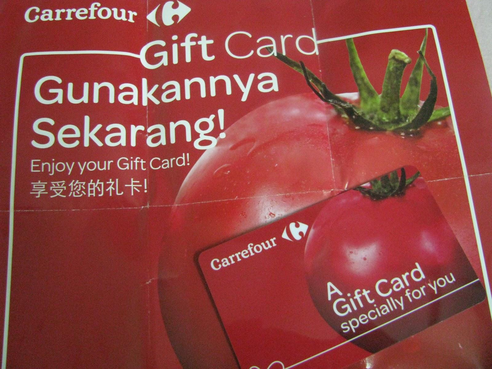 Carrefour Gift Card Balance