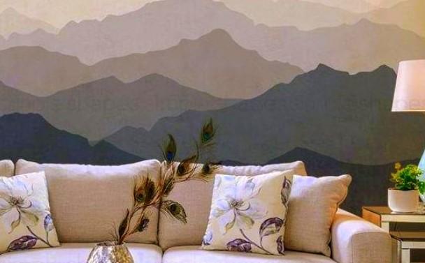 Τεχνοτροπία τοίχου με όψη πίνακα ζωγραφικής