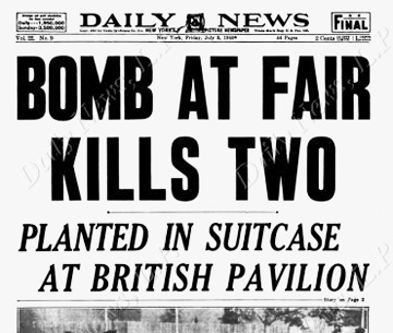 4 July 1940 worldwartwo.filminspector.com NYC World's Fair bombing