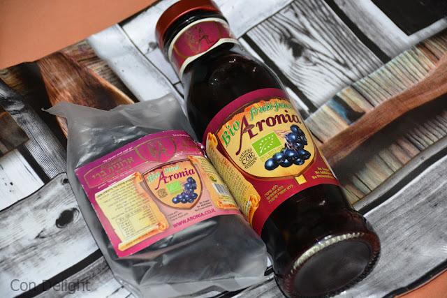 מזון על ארוניה ברי super food aronia berry