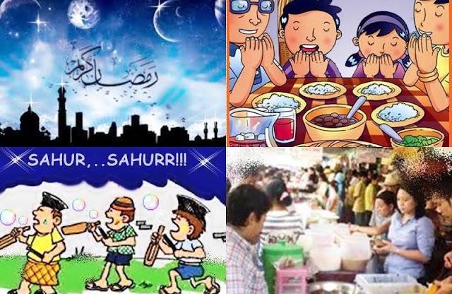6 Peristiwa Unik dan Seru yang Hanya Terjadi di Bulan Ramadhan