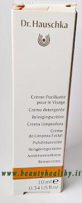 dr.hauschka crema detergente