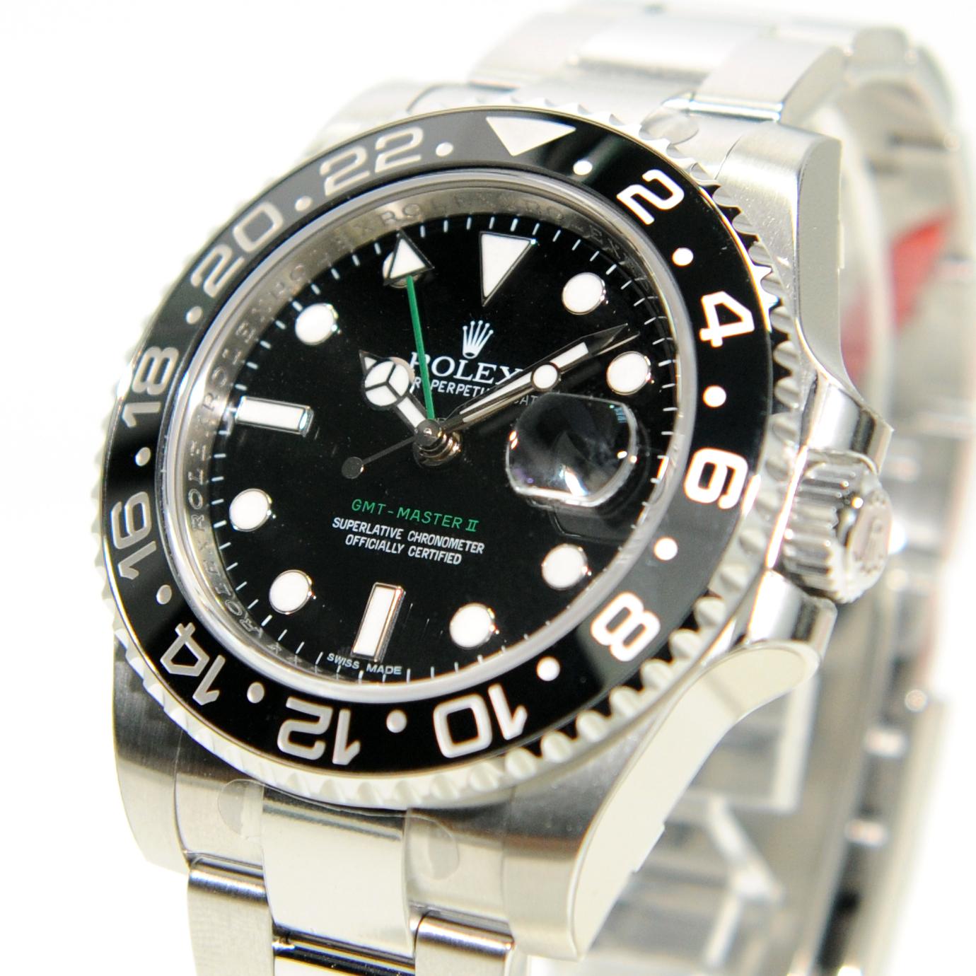 VOGUE STATION 的時尚誌: ROLEX 116710LN 綠針 GMT MASTER II