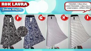 Jual online terlaris rok payung terbaru murah motif anggun nan cantik