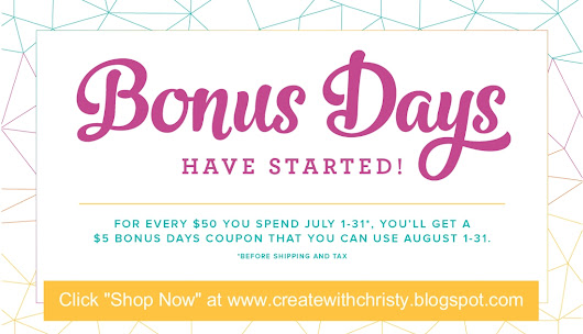 July Specials From Stampin' Up!