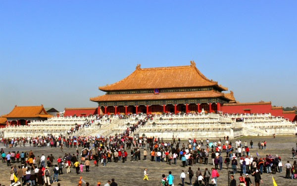 Tourist places in Beijing China